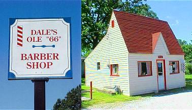 Dales Barber Shop on Route 66 in Joplin