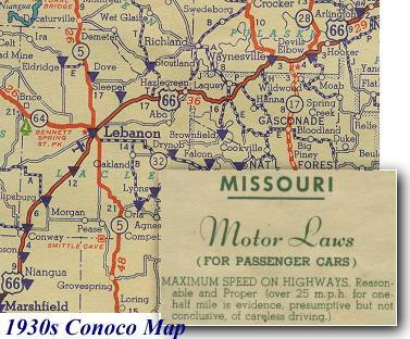 Missouri Speed Limit Map Missouri Map - Highway map of missouri