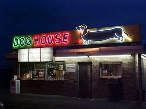 Albuquerque neon lights for Dog house albuquerque