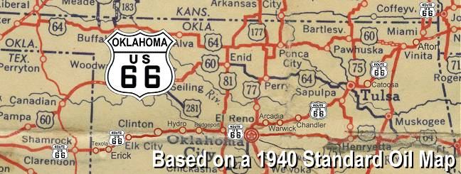 Oklahoma Route 66 – Travel Route 66 Map