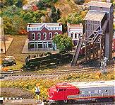 N Scale Model Rail Road Layout