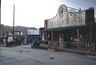 The Old Lee Lumber Company in Oatman