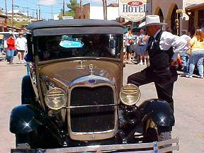 Oatman Law Enforcement ~ Uncle Charlie