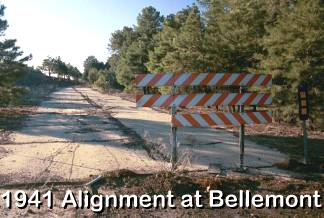1941 Alignment of Route 66 at Bellemont