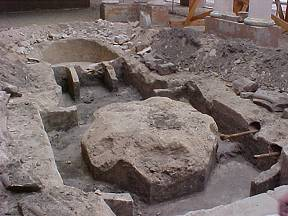 El Garces Fountain Excavations