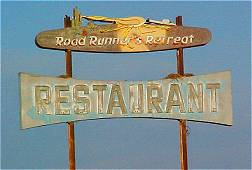Road Runner's Retreat Sign 2003