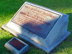 Will Roger's Highway Plaque