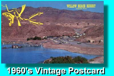 1960's Colorado River Promotional Post Card