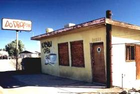 Do Drop Inn on Route 66 at Lenwood, California