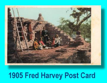 Fred Harvey Grand Canyon Post Card