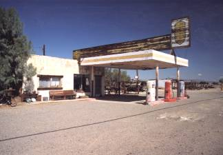 Abandoned Pit Stop in Newberry Springs