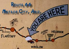 Here We are in Meteor City, Arizona
