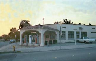 Old Gas Station in Monrovia