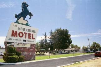 New Corral Motel in Victorville