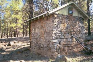 Forest Service Campground Spring House at Parks