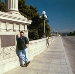 Scott Piotrowski on LA River Bridge