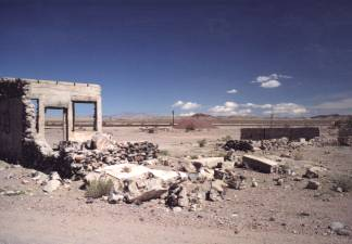 Ruins at Siberia, California