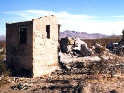 Ruins at Hodge, California