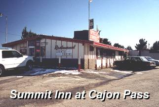 Summit Inn at Cajon Pass