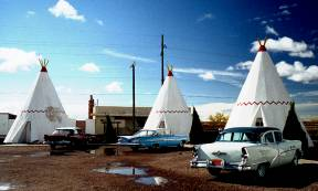 Vintage Vehicles at the Wigwam