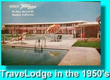 Vintage 50's TravelLodge Post Card