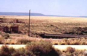 Two Guns Ruins and Old Route 66 Bridge