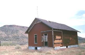Mystery Building at Valentine, Arizona