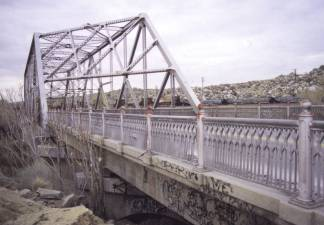Steel Truss Bridge at Victorville