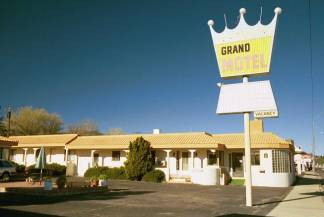 Grand Motel is Still Open in Williams
