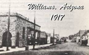 Main Street Williams in 1917