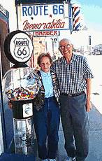 Route 66 Icons - Angel & Vilma Delgadillo