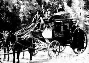 Stagecoach in Boulder Canyon