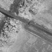 Aerial Phot of Canyon Diablo RailRoad Bridge