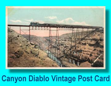 1901 Canyon Diablo Bridge