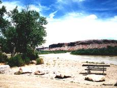 Sand Island at the San Juan River