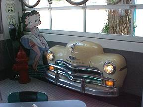 Route 66 Diner Decor